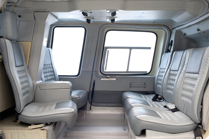 Bell Long Ranger Internal View