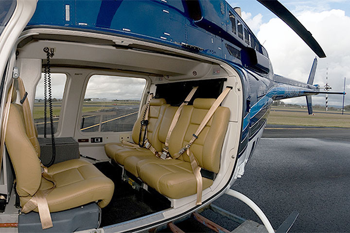 Bell 407 Internal View