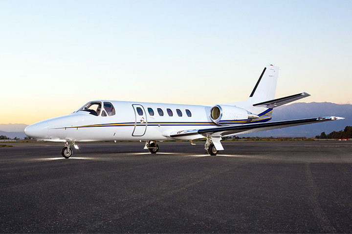 Private Charter Light Jet Citation Bravo