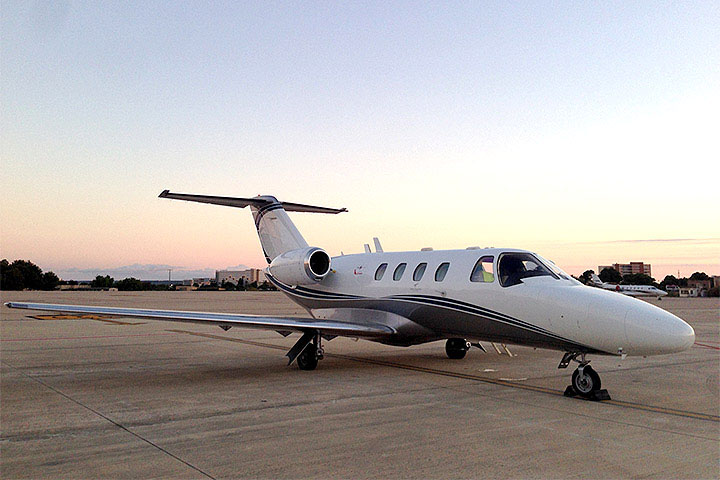 Private Charter Light Jet Citation Mustang