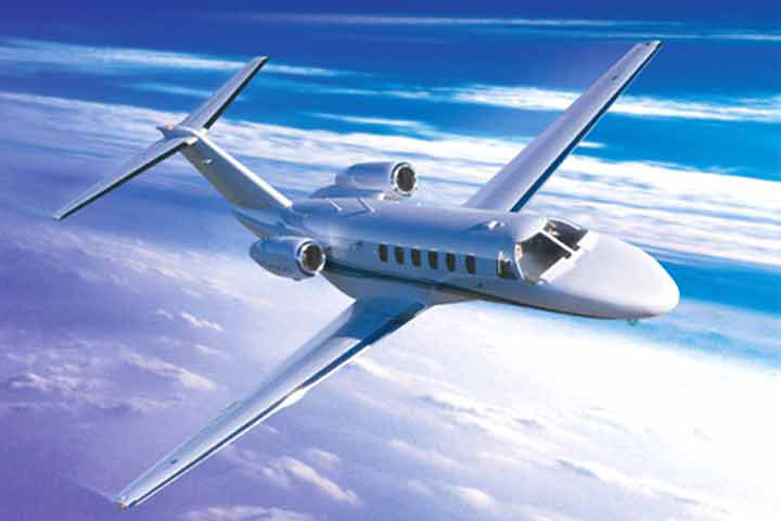 Private Light Jet Citation CJ2 Exterior