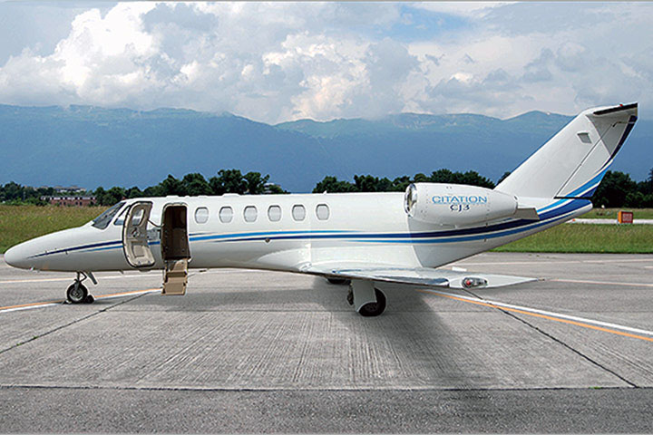 Private Charter Light Jet Citation CJ3