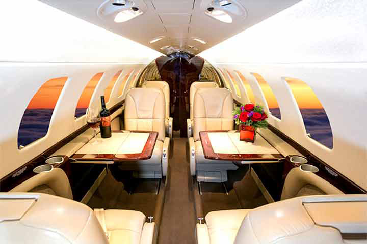Citation Jet 3 / CJ3 Internal View