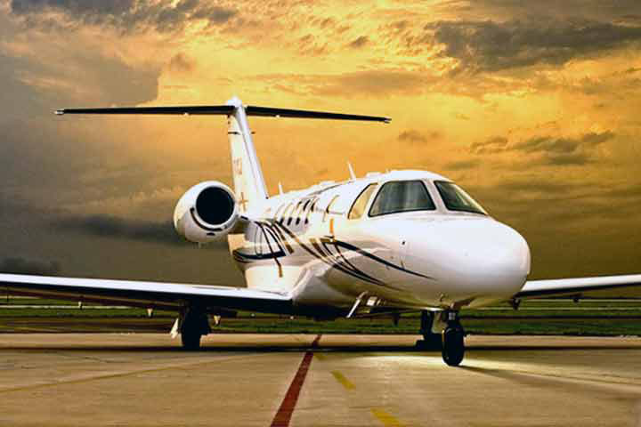 Private Charter Light Jet Citation CJ4