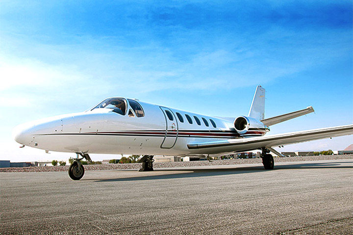 Private Charter Light Jet Citation CJ1