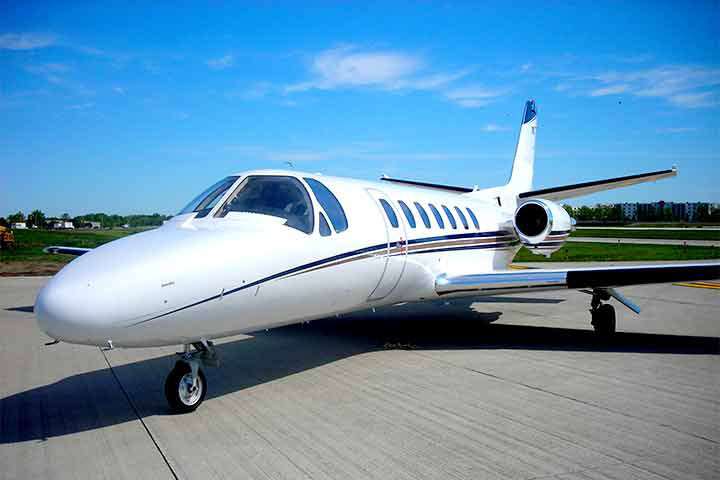 Private Charter Light Jet Citation II/SP