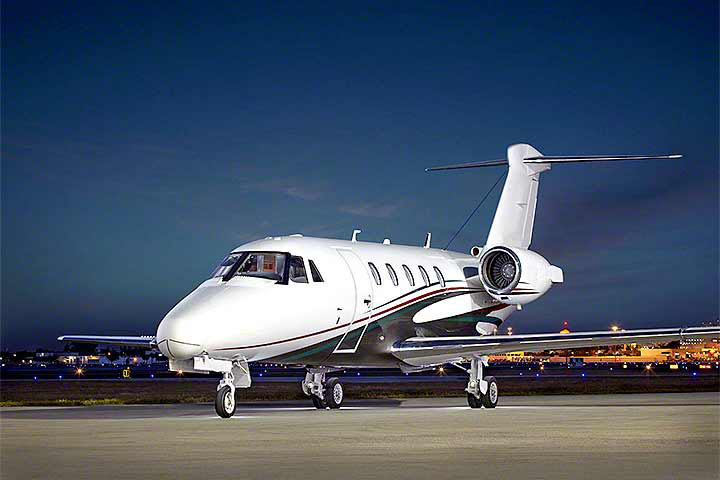 Private Charter Mid Size Jet Citation III