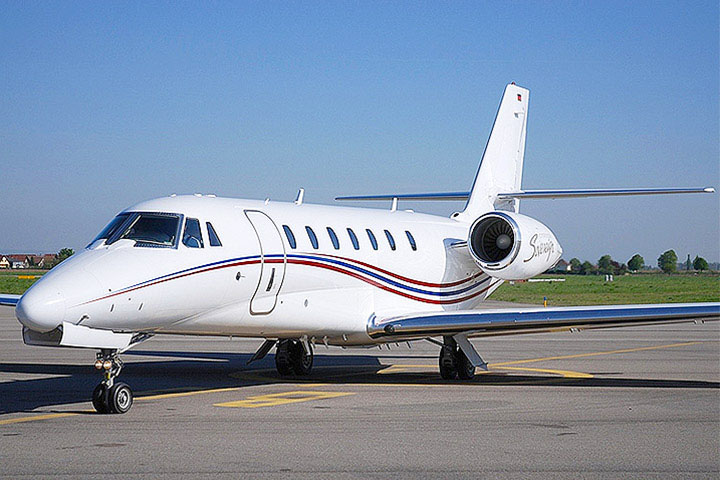 Private Super Mid Size Jet Citation Sovereign Exterior