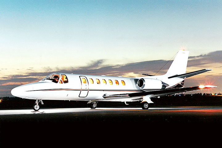 Private Light Jet Citation Ultra Exterior