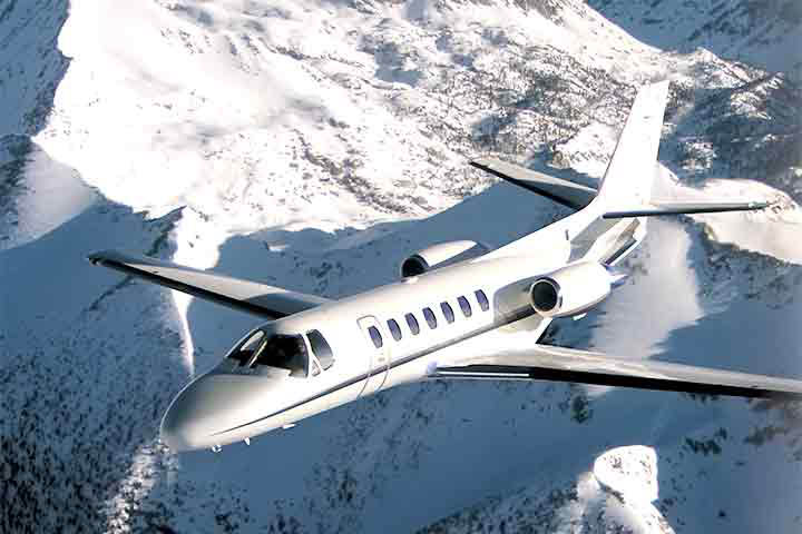 Private Charter Light Jet Citation V