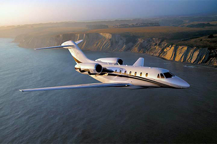 Private Charter Super Mid Size Jet Citation X