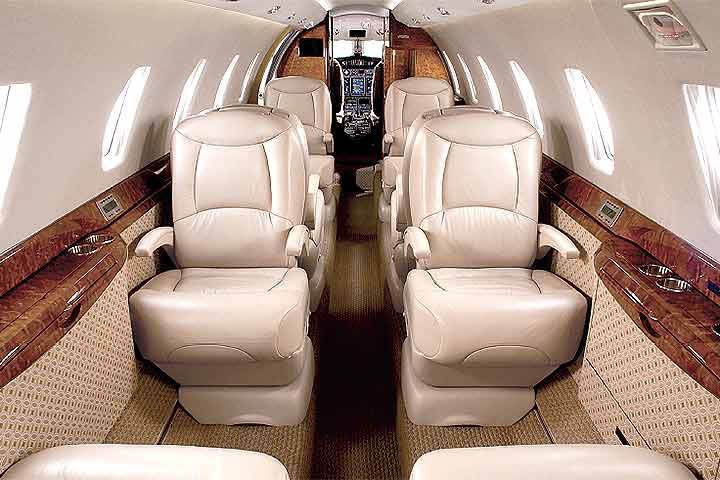 Citation 10 / X Internal View