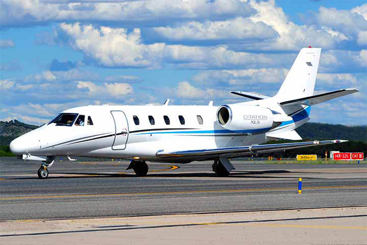 Private Charter Mid Size Jet Citation XLS
