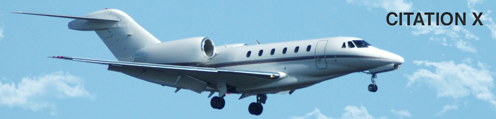 Citation 10 / X for charter