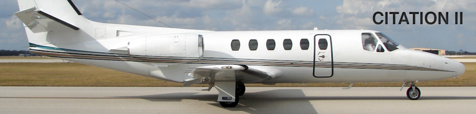 Citation 2 / II for charter