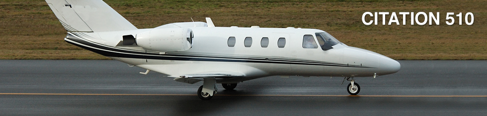 Citation 510 for charter