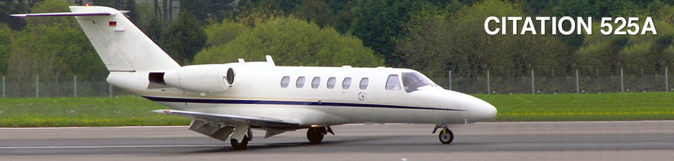 Citation 525A for charter