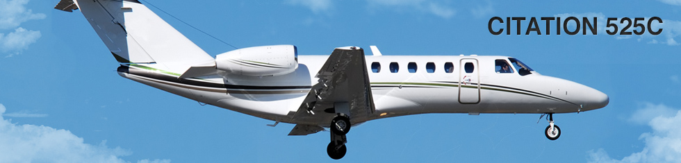 Citation 525C for charter