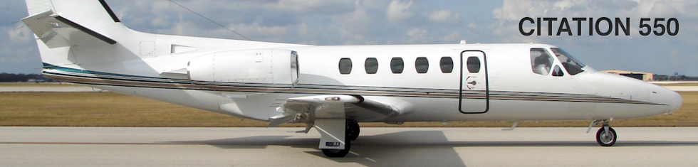 Citation 550 for charter