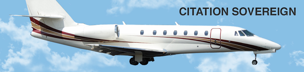 Citation Sovereign for charter