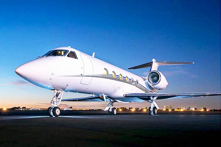 Private Charter Heavy Jet Gulfstream IV/IVSP