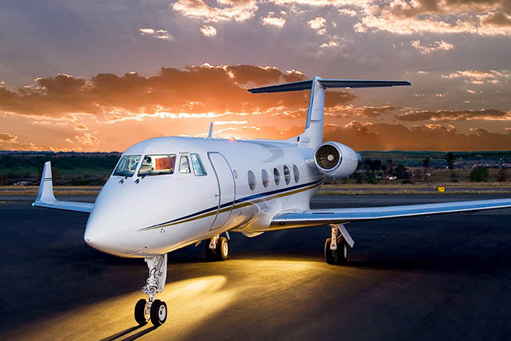 Private Charter Heavy Jet Gulfstream II