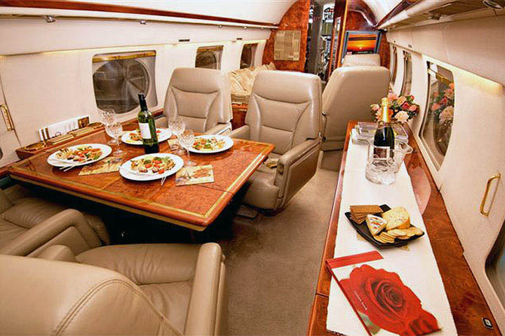 Gulfstream 2 / II Internal View