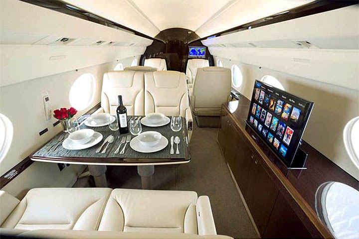 Gulfstream 4 / IV / SP / 400 / 450 Internal View