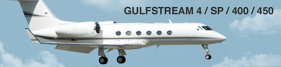 Gulfstream 4 / IV / SP / 400 / 450 for charter
