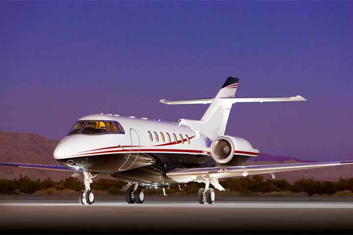 Private Charter Super Mid Size Jet Hawker 1000