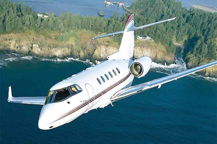 Hawker 900XP External View
