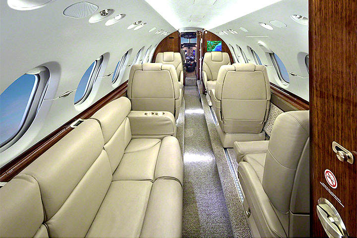 Hawker 900XP Internal View