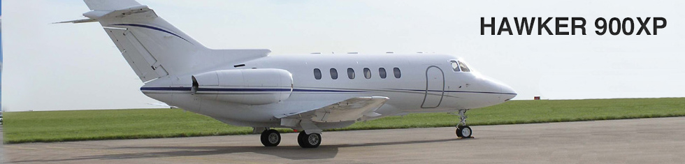 Hawker 900XP for charter