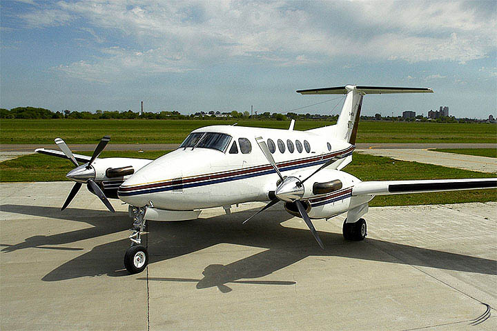 Private Charter Turboprop King Air B200