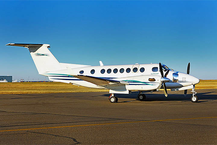Private Charter Turboprop King Air 350