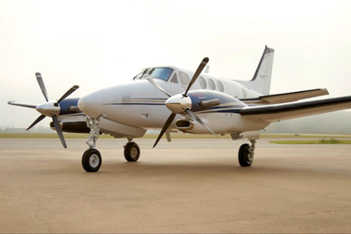 king-air-90 jet charter