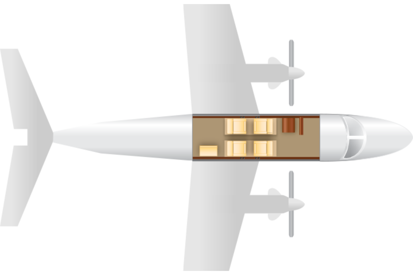 king-air-90-transparent-1413395432.png Floor Plan View