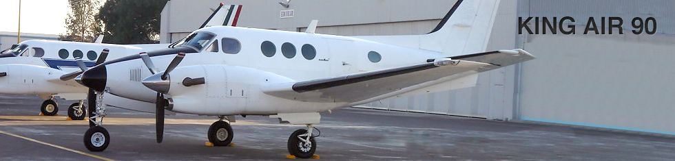 King Air 90 for charter