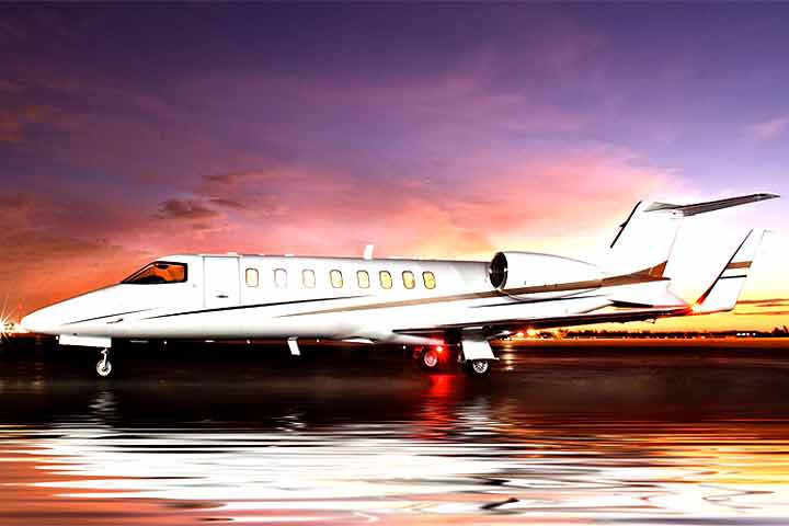 Private Charter Mid Size Jet Lear 45/XR
