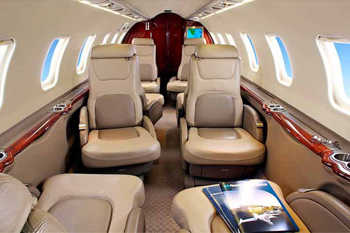 Learjet 45 / XR Internal View