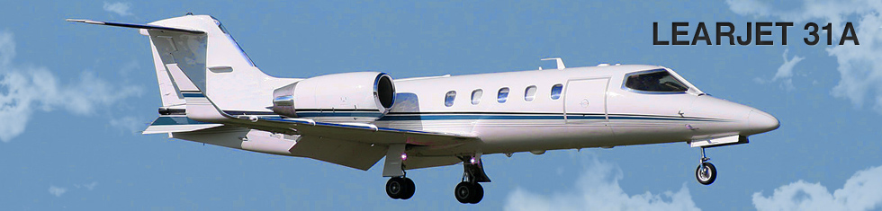 Learjet 31A for charter