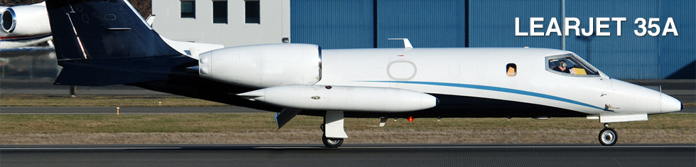 Learjet 35A for charter