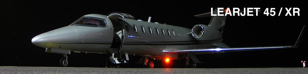 Learjet 45 / XR for charter