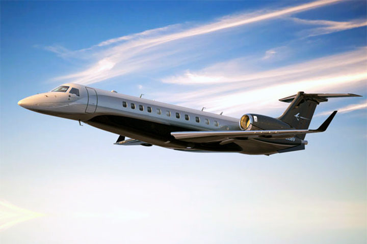 Private Charter Heavy Jet Legacy 600
