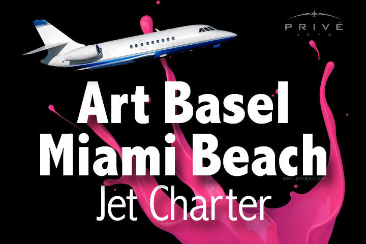 Charter a Jet to Art Basel Miami Beach