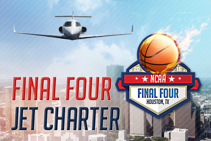 Charter a Private Jet to the Final Four