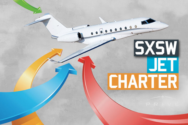 Charter a Private Jet to SXSW