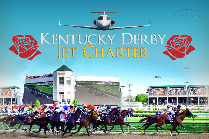 Charter a Private Jet to the Kentucky Derby