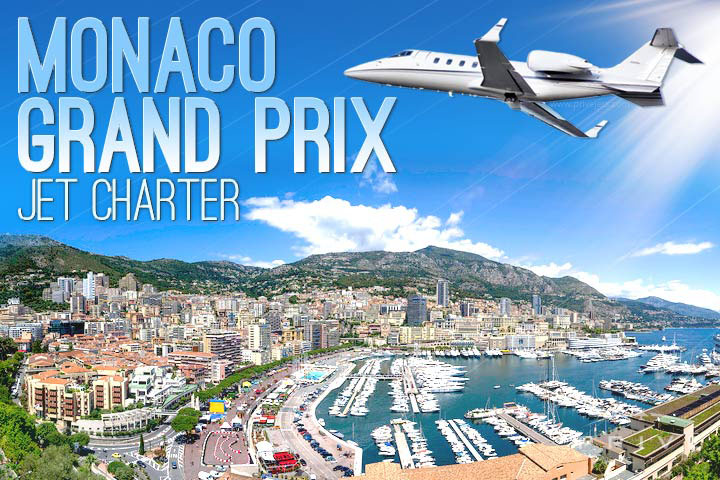 Charter a Private Jet to the Monaco Grand Prix