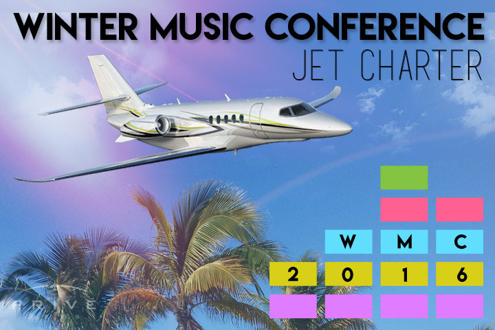 Charter a Private Jet to the Winter Music Conference